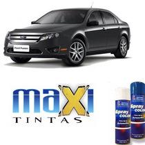 Tinta Spray Automotiva Cinza Berlin Ford + Verniz 300ml