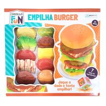 Comidinha Criative Fun Empilha Burger Multikids