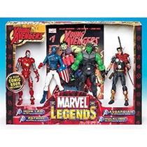 Juguete Leyendas De Marvel Avengers Joven Figuras De Acción