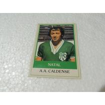 Card Original Natal Nº 503 A A Caldense Futebol Ping Pong