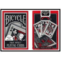 Naipes Cartas Bicycle Tragic Royalty - Ideal Magia Poker