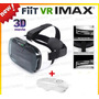 Cardboard Fiit 2n Google Vr Realidade 3d Hd C/ Controle