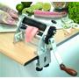 Maquina Para Fatiar E Cortar Peixe Em Nylon E Aço Inox 17cm