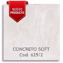 Porcelanato Esmaltado Simil Cemento Alisado 62x62 - Mathome