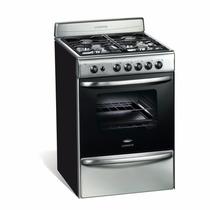 Cocina Longvie A Gas De 60 Cm 18601 Xf Acero Inoxidable