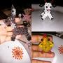 Bichinhos De Miçangas Para Chaveiros Ou Decoração