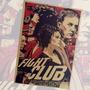 Poster Fight Club - Clube Da Luta