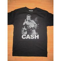 Playera Jhonny Cash, Nueva, Todas Las Tallas,