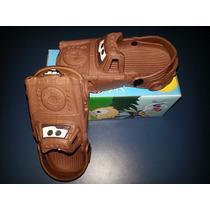 Sandália Infantil Disney Carros Matte Crocs Promoção Babuche