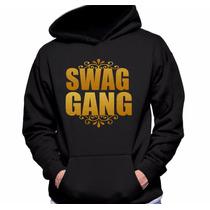Blusa Swag Gang - Moletom Canguru