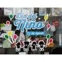 Ploteo De Vinilo Para Vidriera Dia Del Niño 40cx40cm