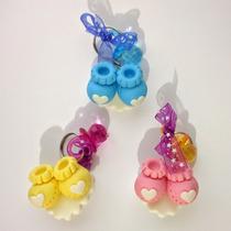 Recuerdos Zapatitos Zapato Baby Shower Pasta Llaveros Bebés