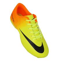 Chuteira Society Nike Mercurial Vortex Robinho Mega Oferta