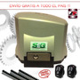 Kit Motor Porton Corredizo Automatizacion Seg Abs 400 Kg 1/5