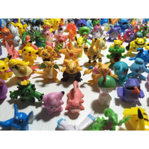 24 Pokemon Brinquedos Miniatura Pronta Entrega Não Repetido