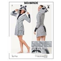 Bata Pijama Mapache Para Adulto