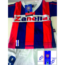 Camiseta Bebe Oficial Retro San Lorenzo Perazzo T2 Falugan