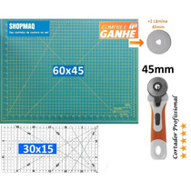 Kit Base De Corte 60 +régua 30 +cortador Patchwork,scrapbook