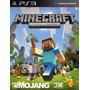 Minecraft Ps3 Digital (leer Descripción)