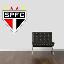 Adesivo De Parede Sala Quarto Escudo Time São Paulo Fc