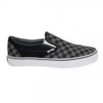 Championes Vans Checkerboard Gray/black