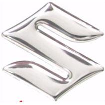 Emblema S Cromado Tanque Suzuki Bandit Srad Bking Hayabusa