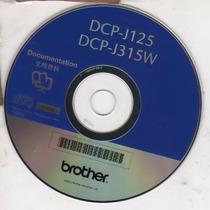 Cd De Instalação Para Impressora Brother Dcp J125 - Dcp J315