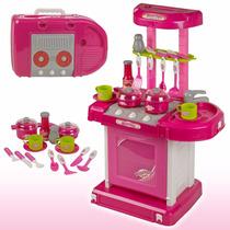 Cocina Kitchen Set Para Niñas 65.5 Cm Importada
