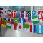 Bandeirola 32 Países 9 Metros 14x20cm
