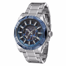 Relógio Technos Masculino Legacy Js25bb/1a Azul Lançamento