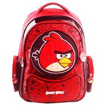 Mochila Infantil Angry Birds Escolar De Costas Abm13005u03