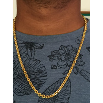 Corrente Em Ouro 18k-750 Peso 63.6 Gramas 65,5cm