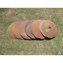 Discos De Arado Usados Para Base De Mesa O Freir (dentados)