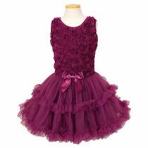 Popatu, Vestidos Formal Para Niña Elegante De Fiesta 4color