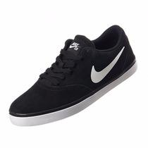 Zapatillas Nike Sb Check Skate Board Terciopelo 705265-004