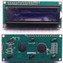 Pantalla Lcd1602 16x2 Hd44780 Fondo Azul + Tutoria Arduino