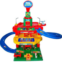 Brinquedo Carrinho Posto De Gasolina Super Parking