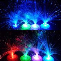 Lampara Led De Noche Fibra Optica. Cambia De Colores