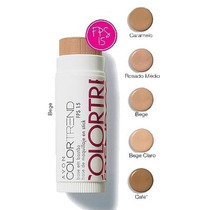 Base Bastão Colortrend Avon Fps15 Bege Claro