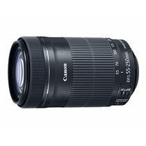 Lente Canon Ef-s 55-250mm F4 5.6 Is Stm Promoção C/nfe