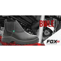 Botina De Segurança Fox Bico Aço Ca 30.305