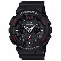 Casio G-shock Ga120-1a Wr200 H.mundial Garantia De 01 Ano