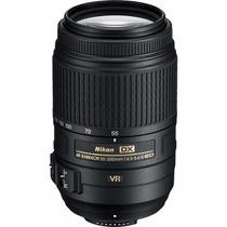 Lente Nikon Af-s Dx 55-300mm F/4.5-5.6g Ed Vr Pronta Entrega