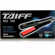 Chapa Red Ion 200º Ions Negativos Taiff Profissional