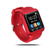 Smartwatch, Reloj Inteligente U80, Iphone Applewatch Rojo
