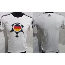 Playera De La Eurocopa Alemania 2008, Marca Adidas, Talla L,