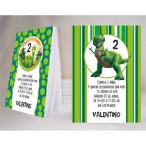 Dinosaurios Souvenir Anotador Personalizado X32!!!