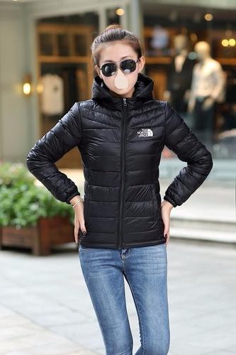 chaqueta north face negra mujer