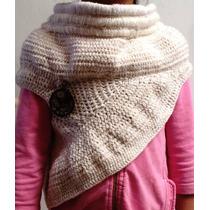 Crochet Chal Tipo Katniss Los Juegos Del Hambre Estambre