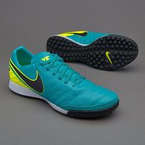 Tenis Nike Tiempo Turf Azul Turqueza Copa America 2016